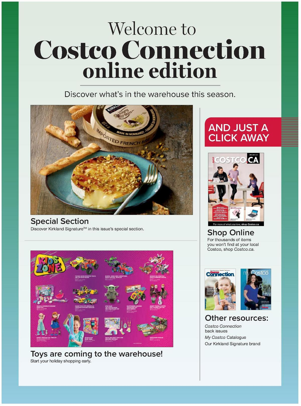 Costco Connection September/October 2020 Flyer from September 1