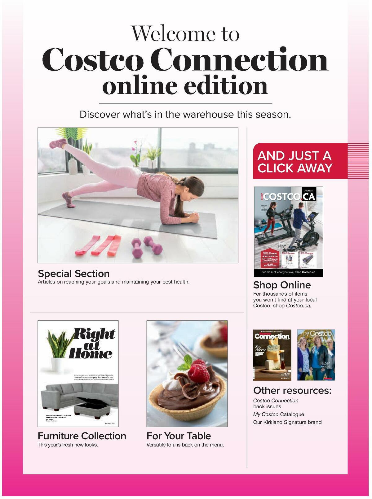 Costco Connection January/February Flyer from January 1