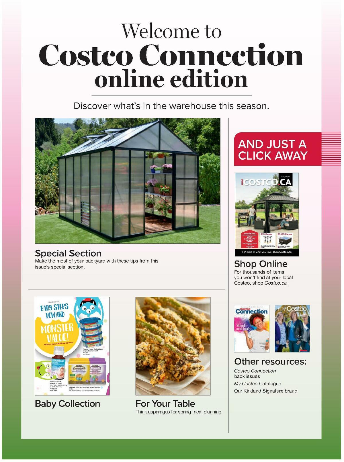 Costco Connection March/April Flyer from March 1