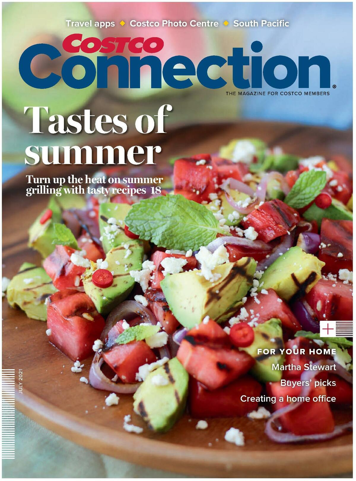 Costco Connection July Flyer from July 1