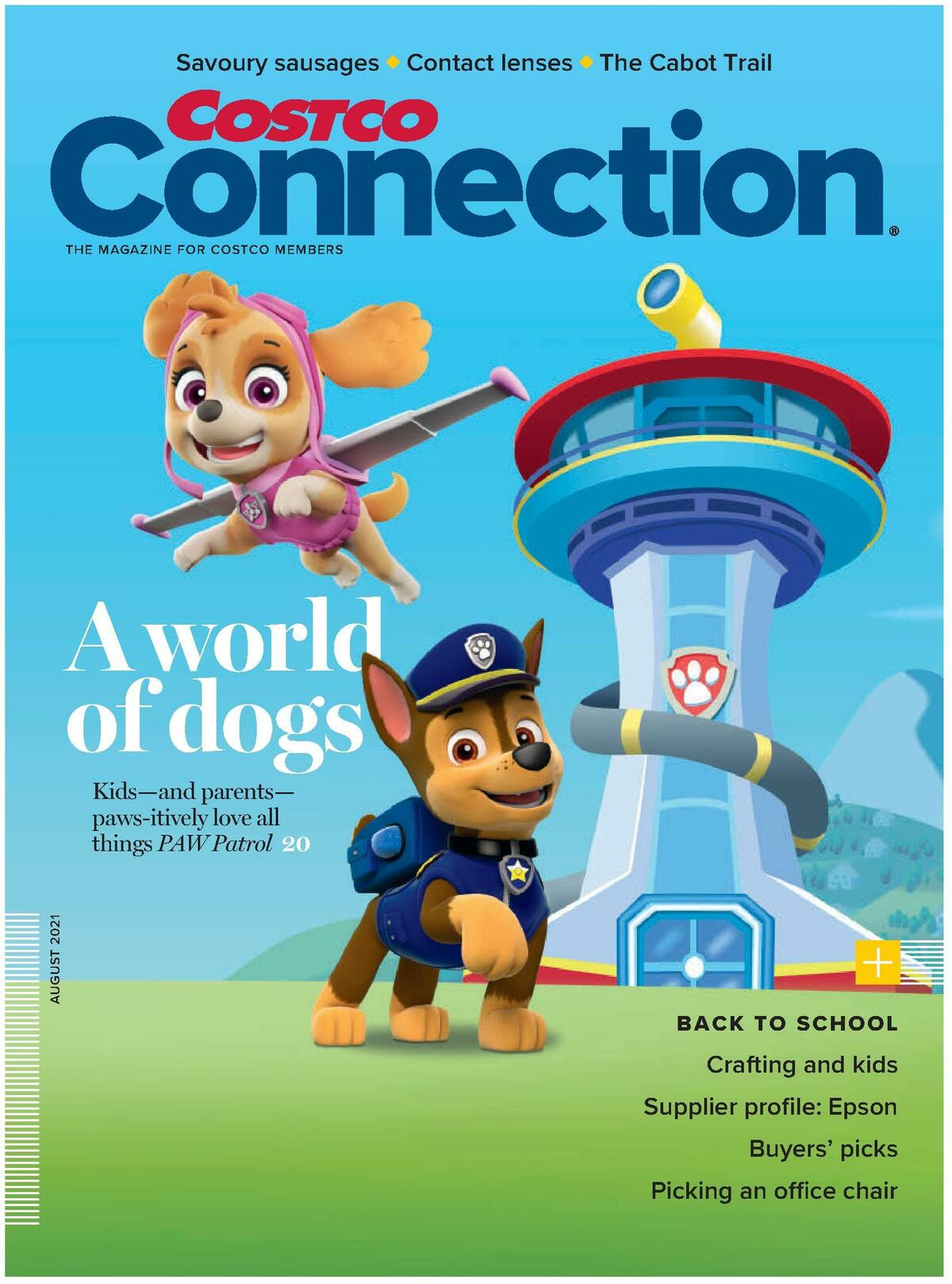 Costco Connection August Flyer from August 1