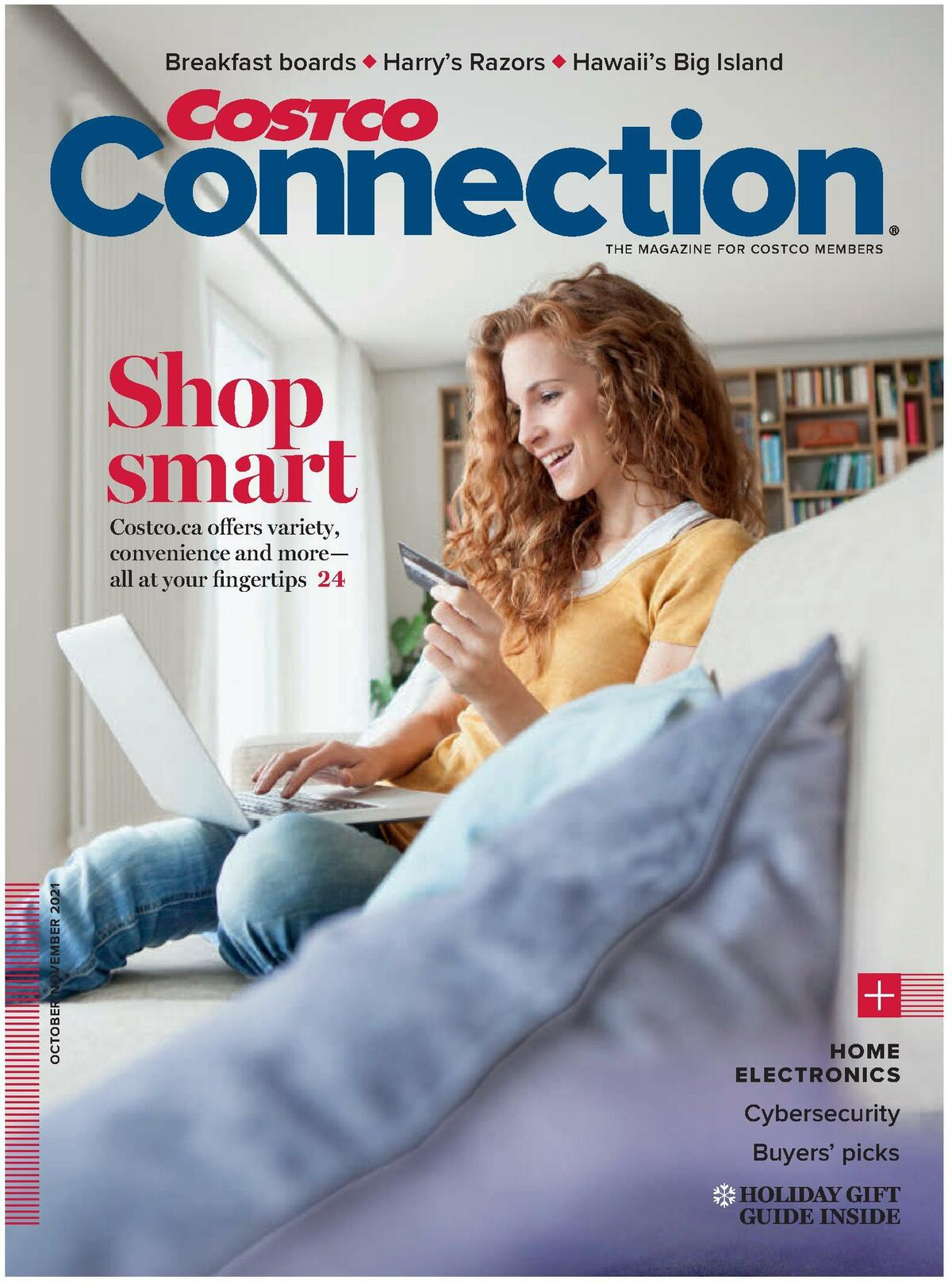 Costco Connection October/November Flyer from October 1