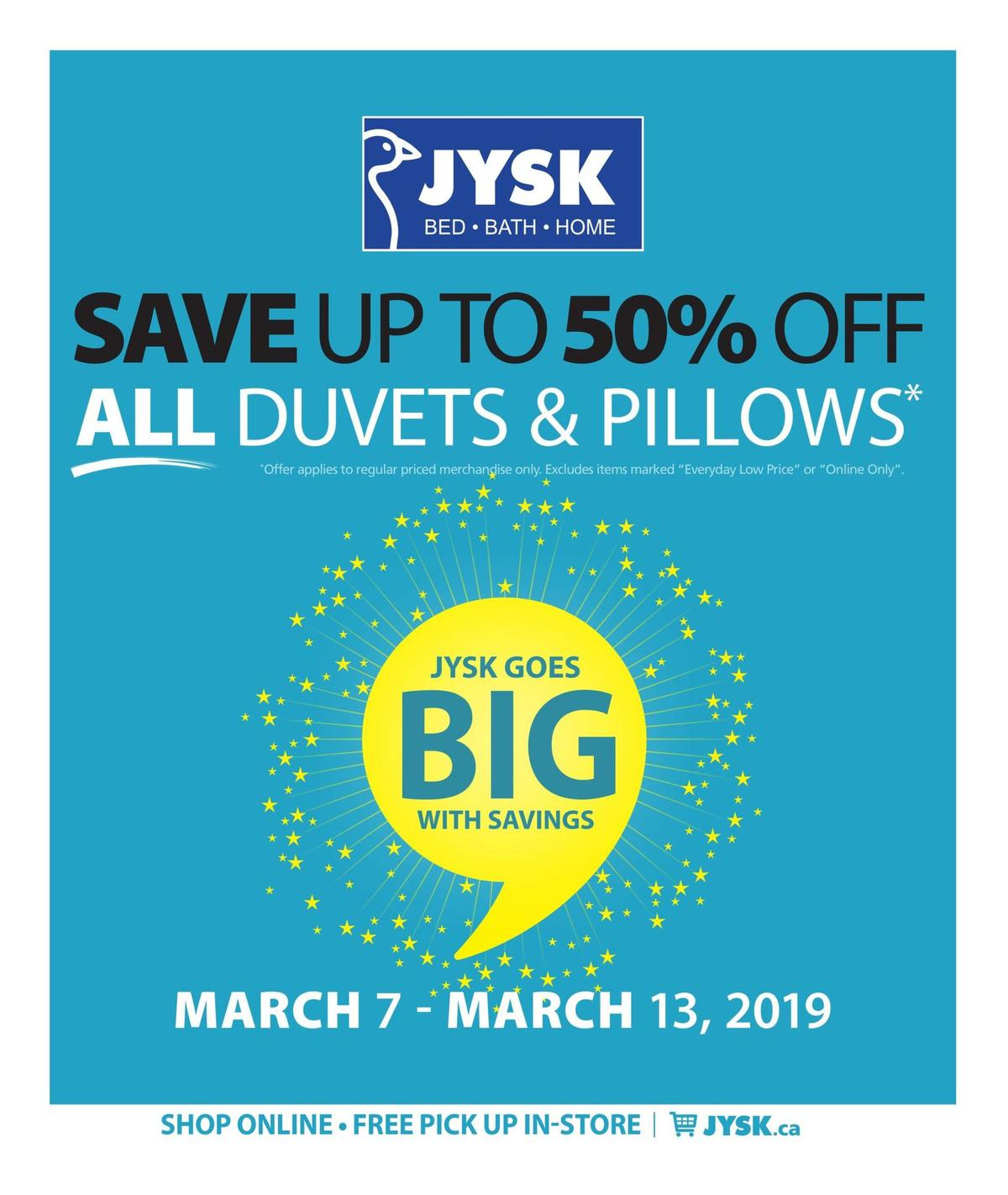JYSK Flyer from March 7