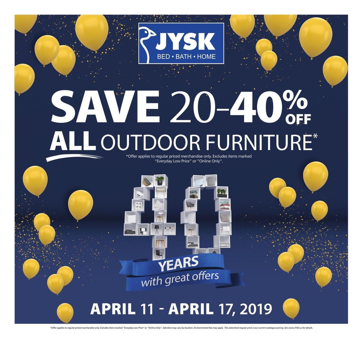JYSK Flyer from April 11