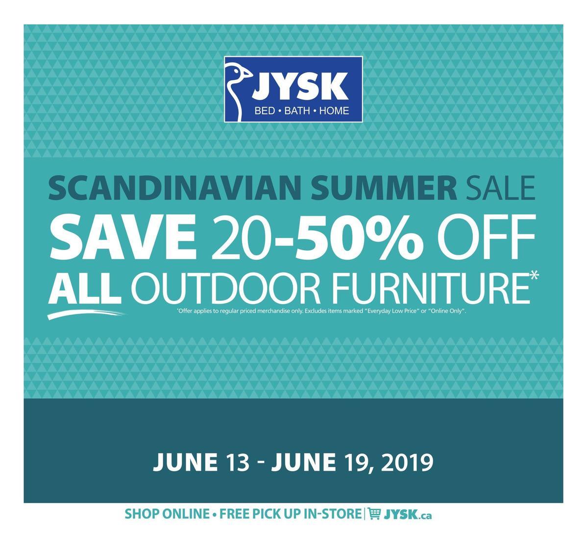 JYSK Flyer from June 13