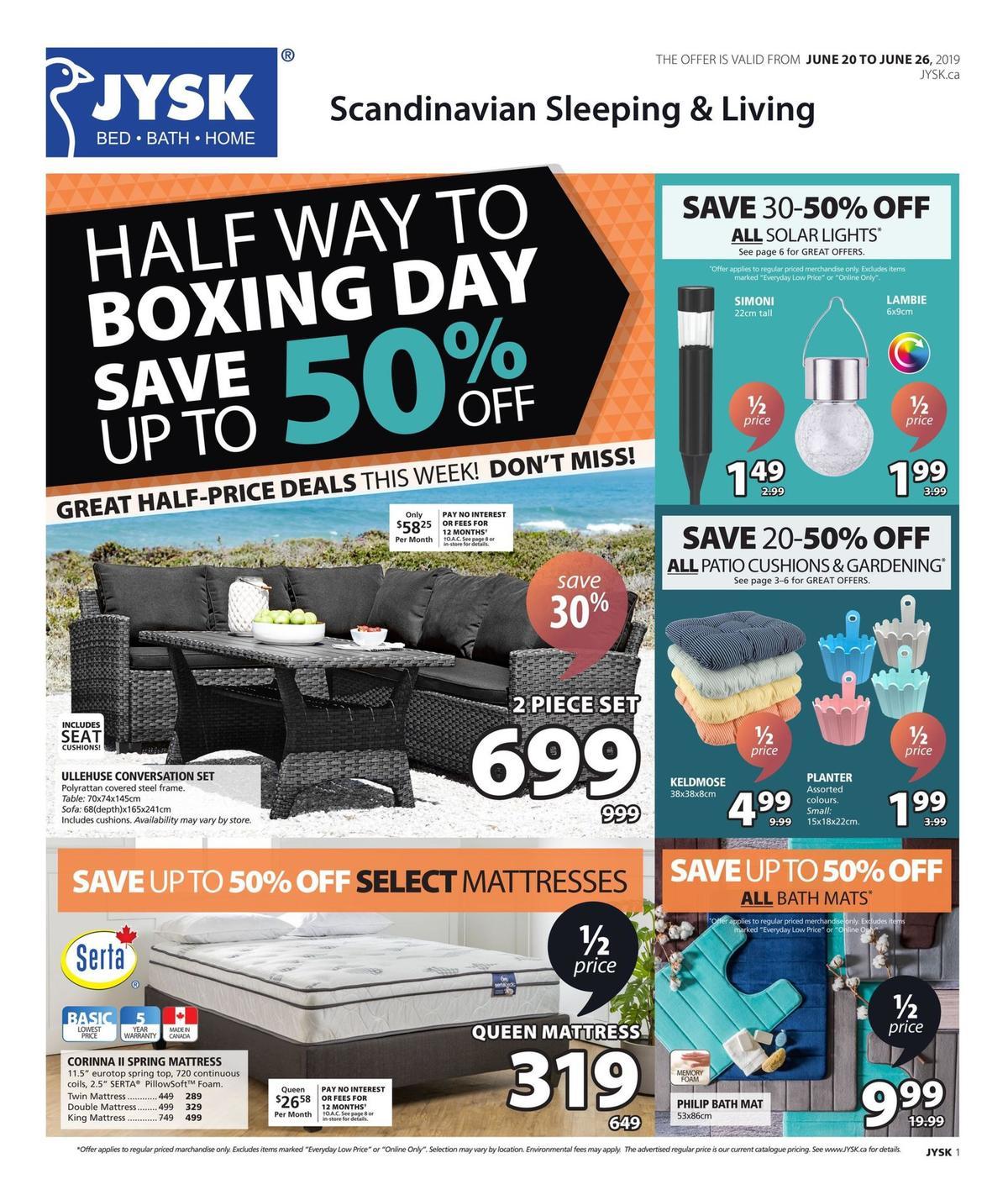 JYSK Flyer from June 20