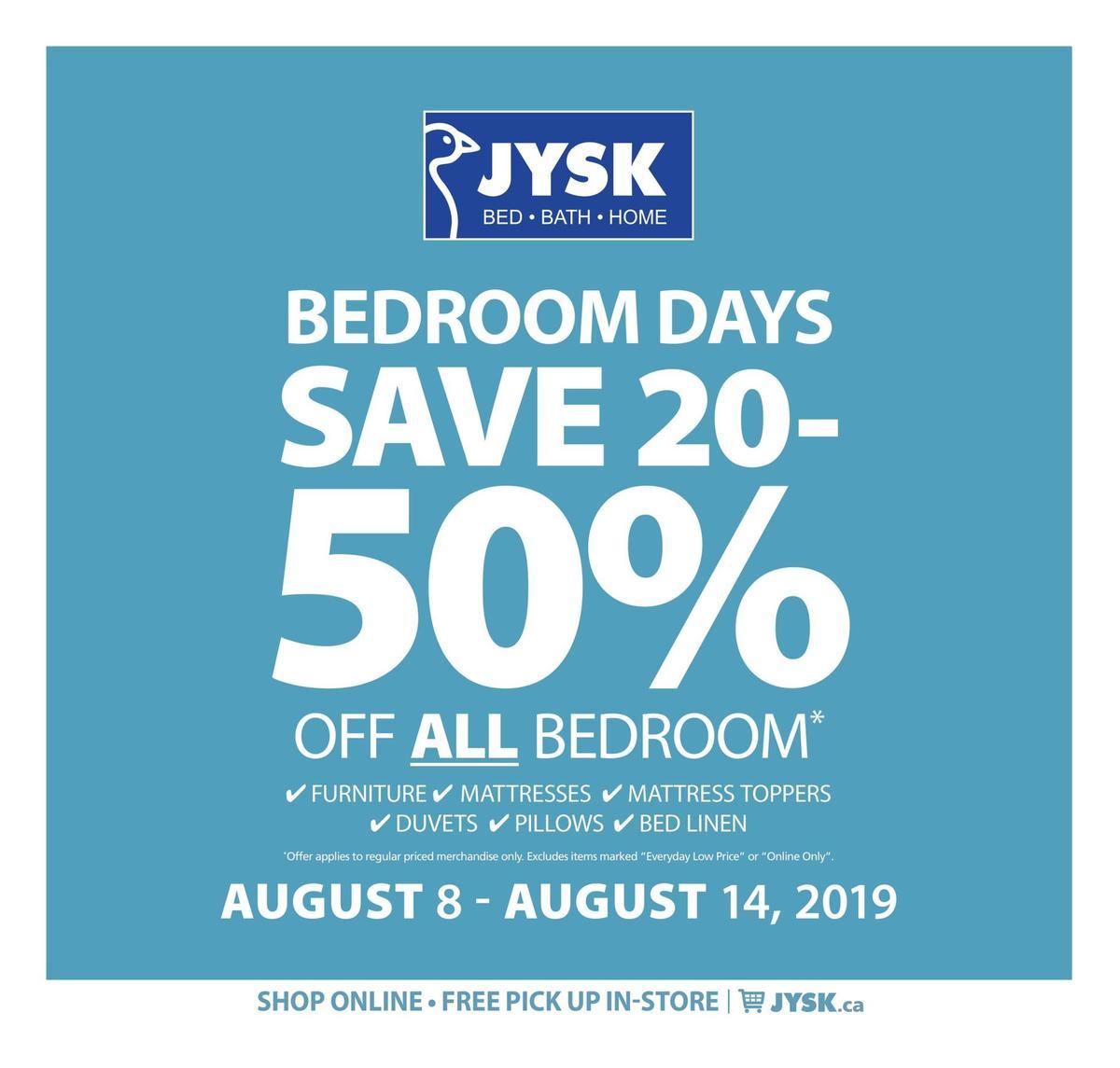 JYSK Flyer from August 8