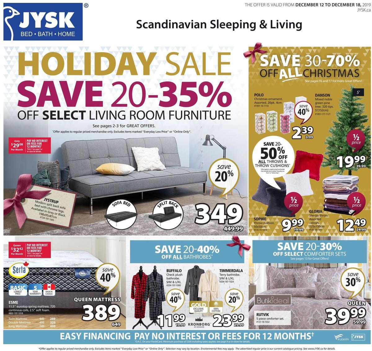 JYSK Flyer from December 12