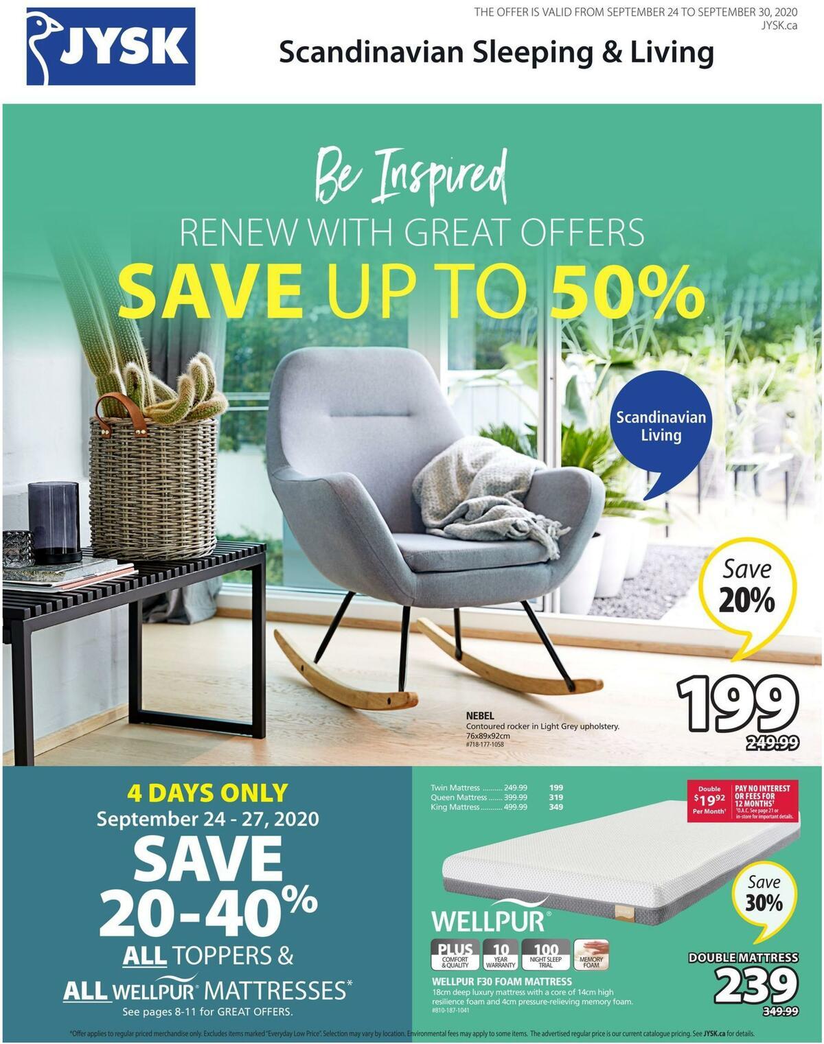 JYSK Flyer from September 24