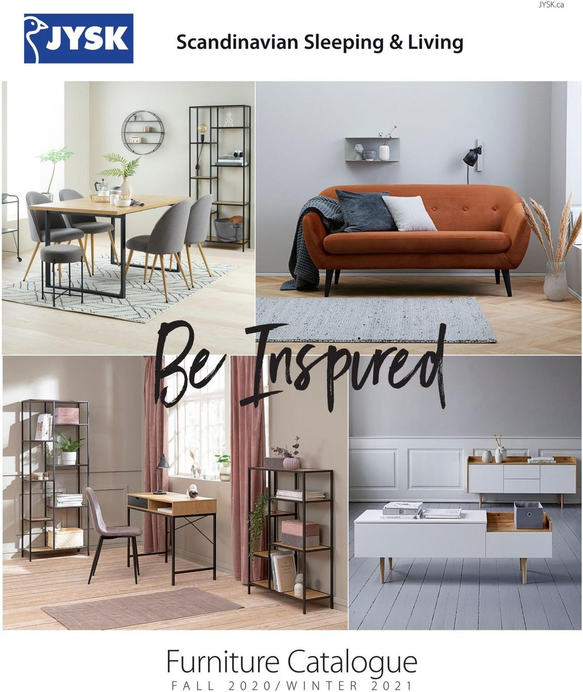 JYSK Furniture Catalogue Flyer from December 3