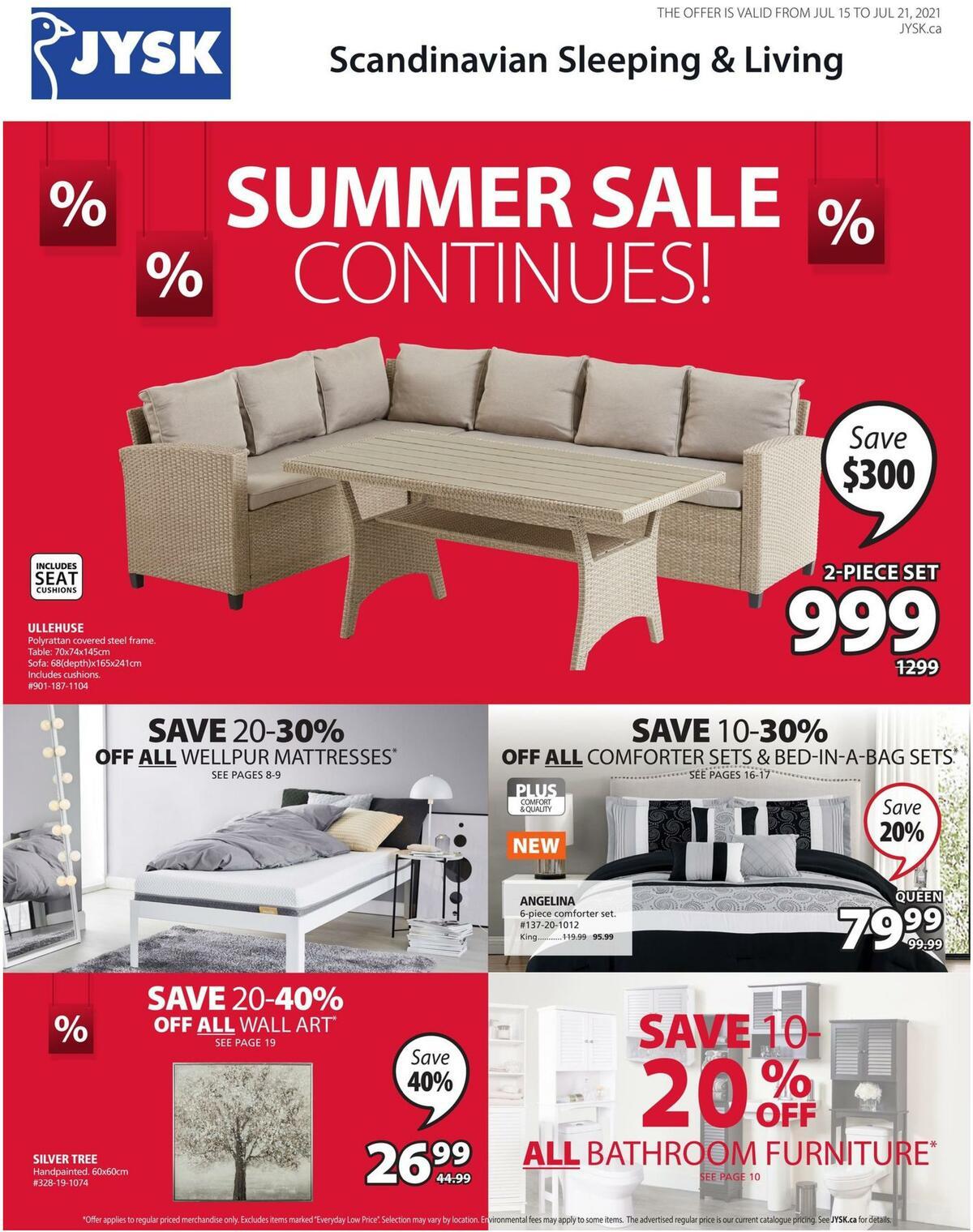 JYSK Flyer from July 15