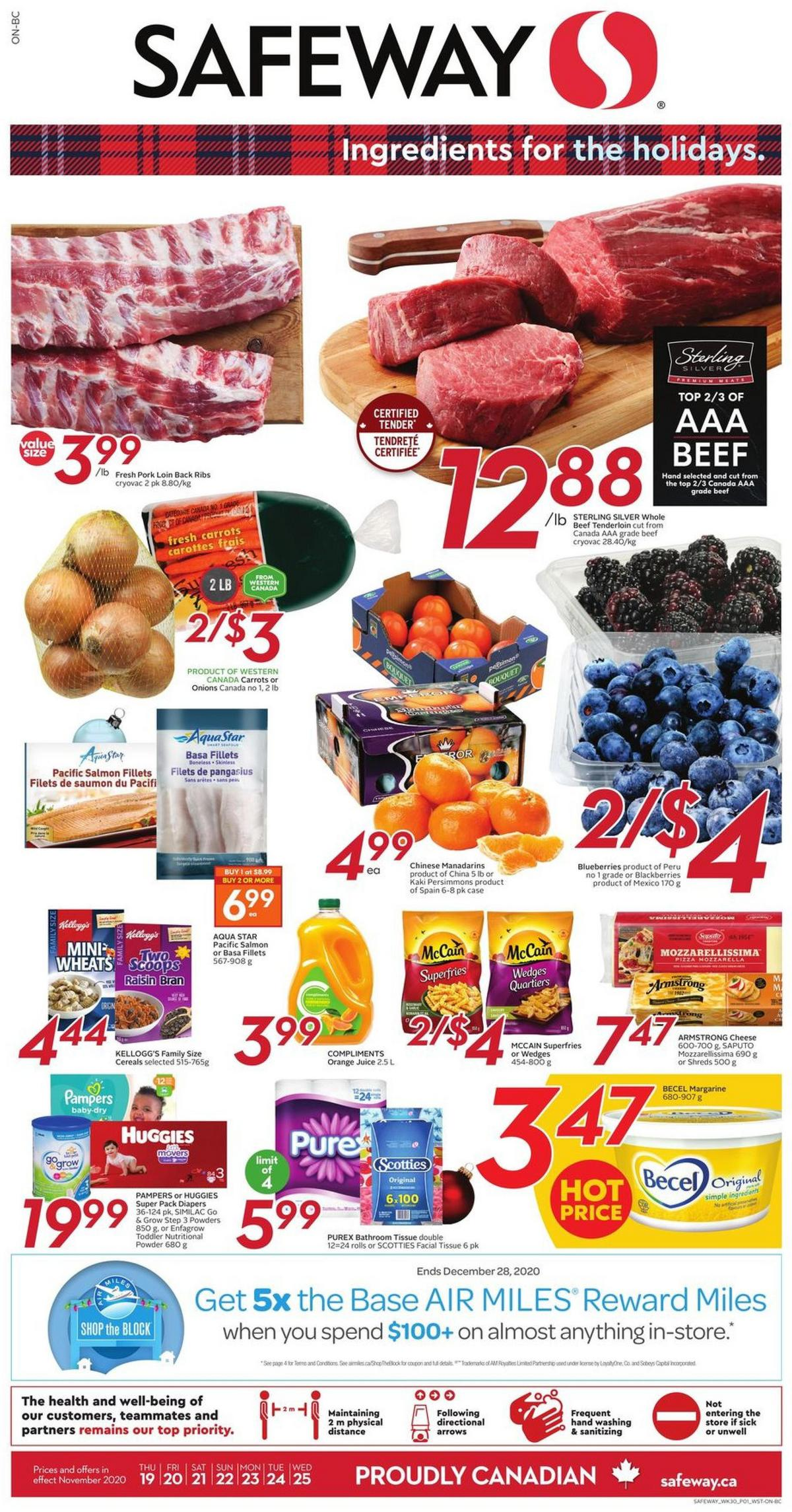 Safeway Flyer from November 19