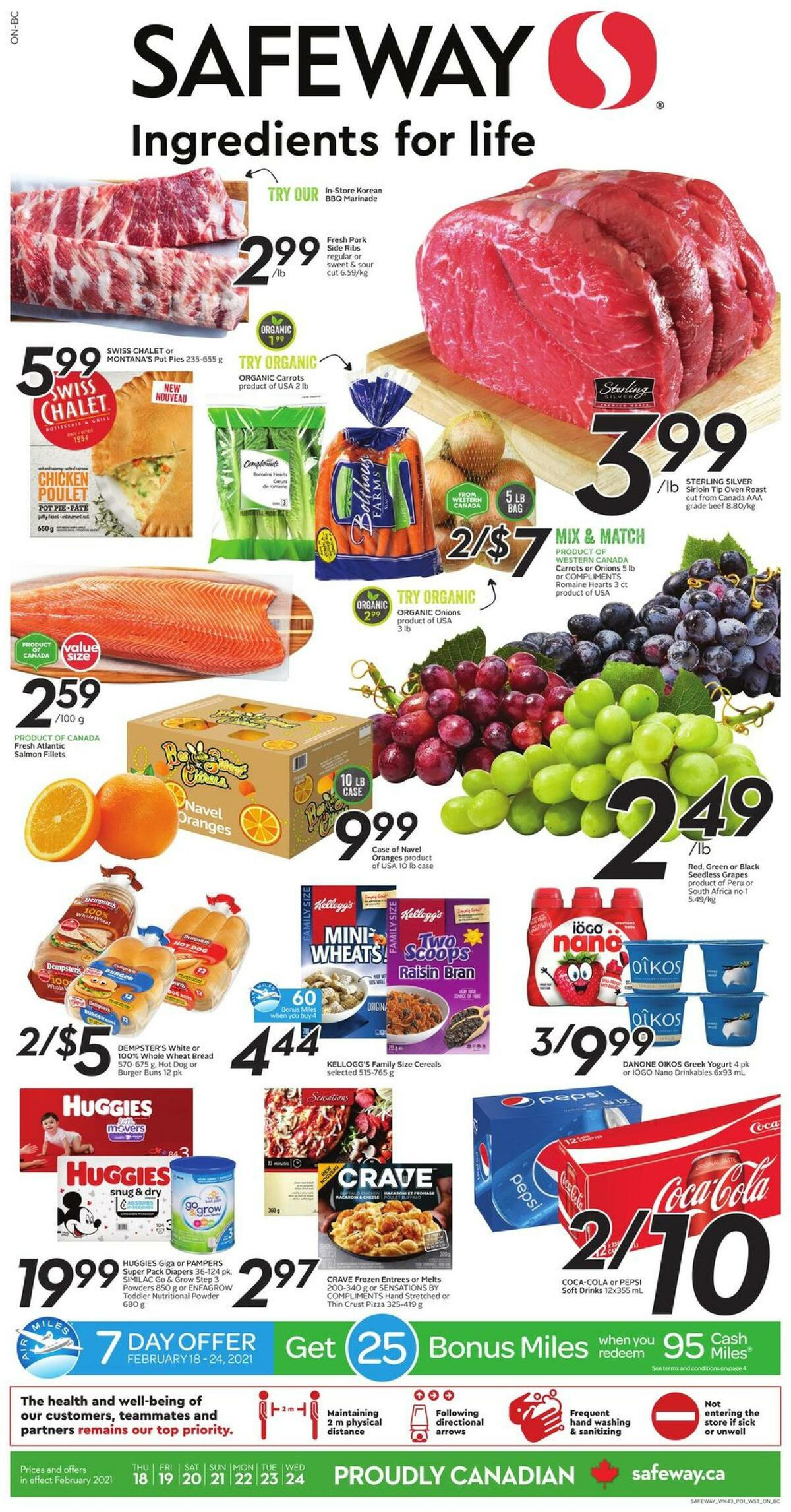 Safeway Flyer from February 18