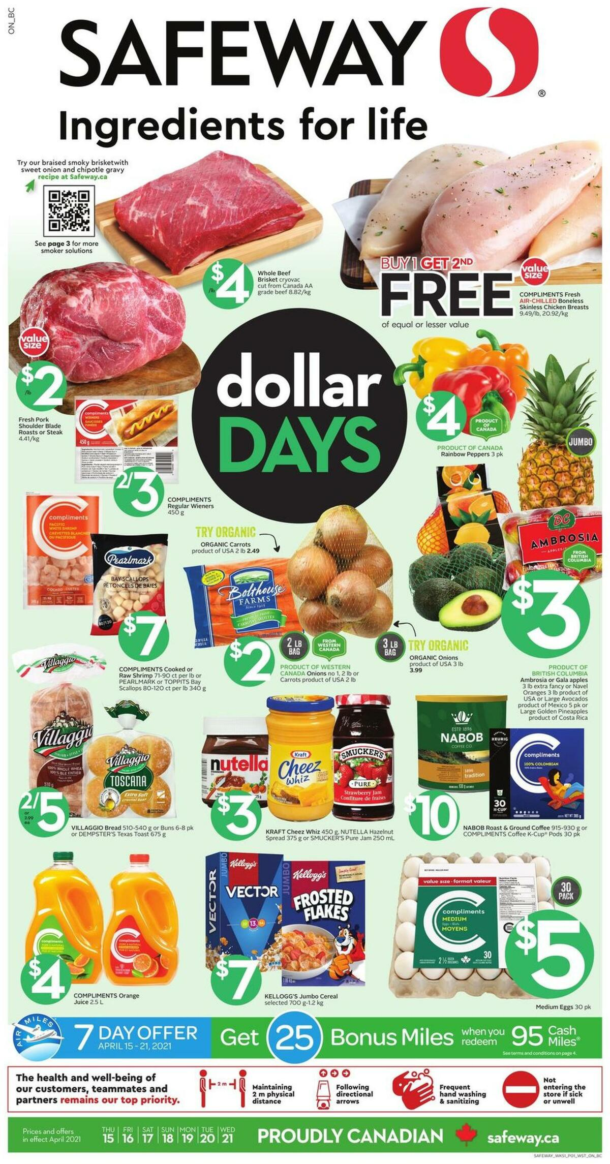 Safeway Flyer from April 15