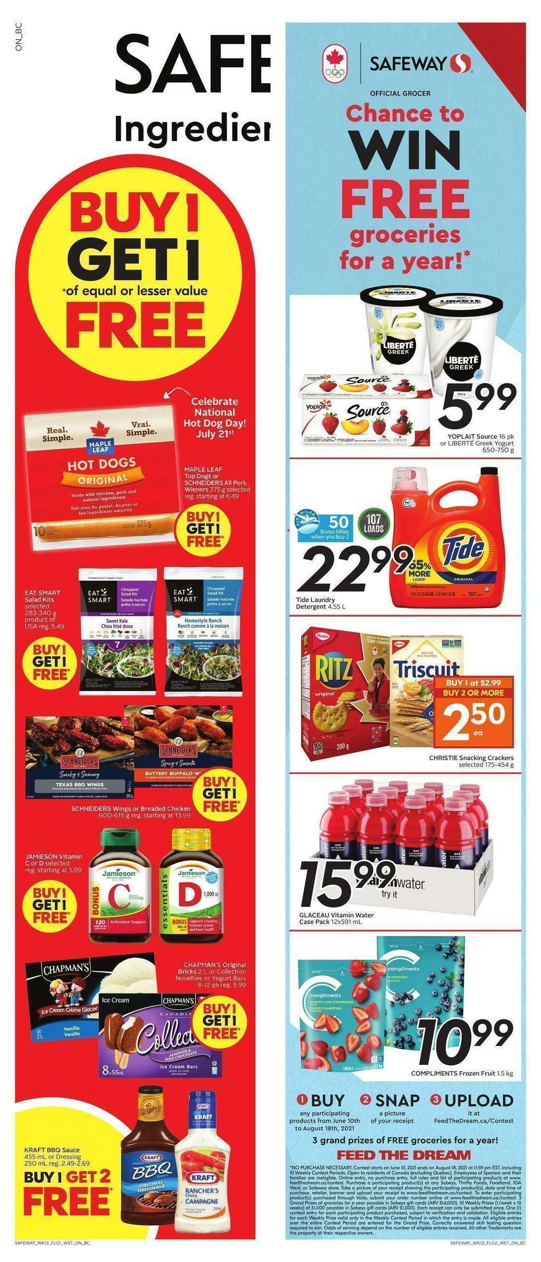 Safeway Flyer from July 15