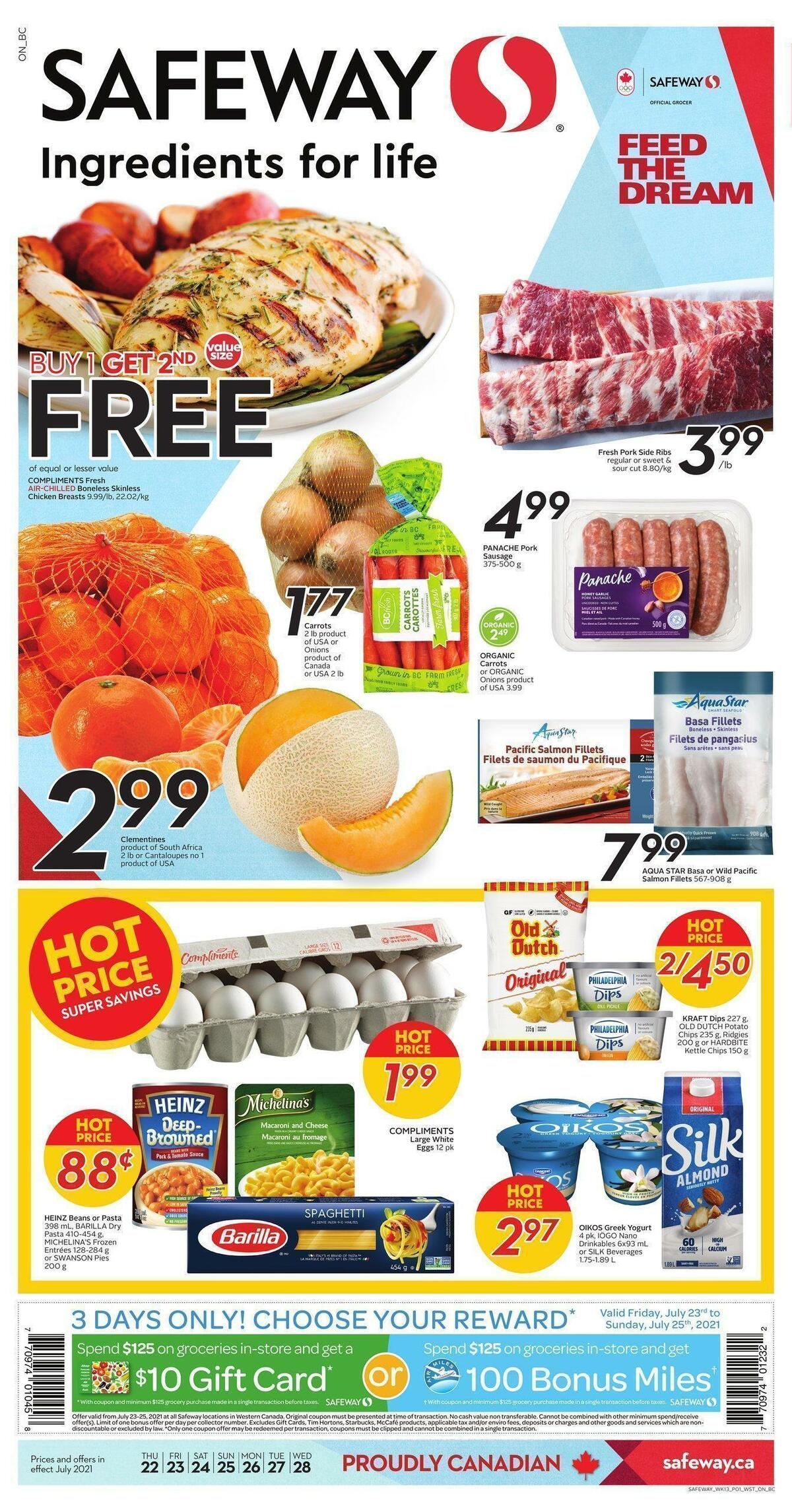 Safeway Flyer from July 22