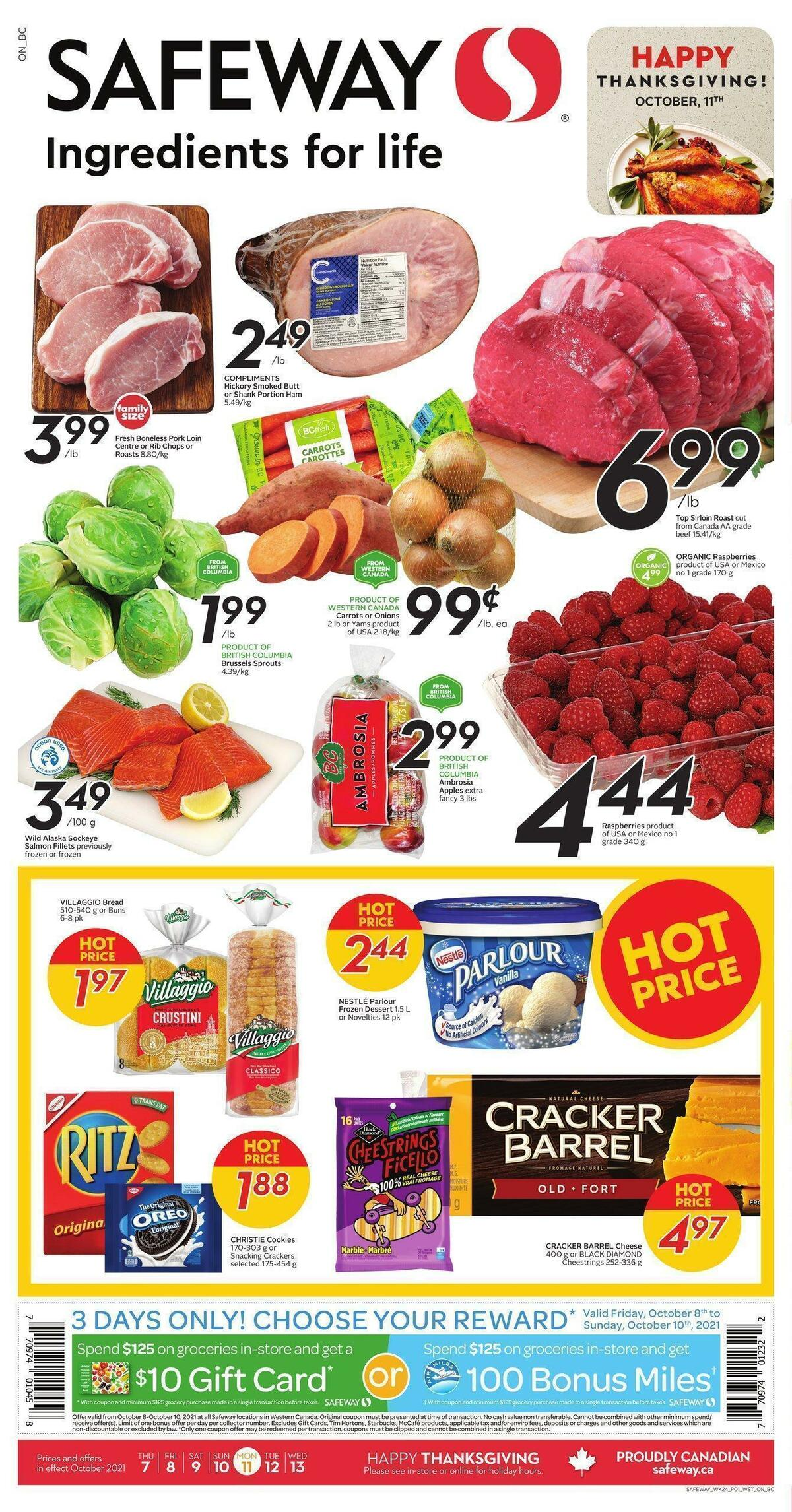 Safeway Flyer from October 7