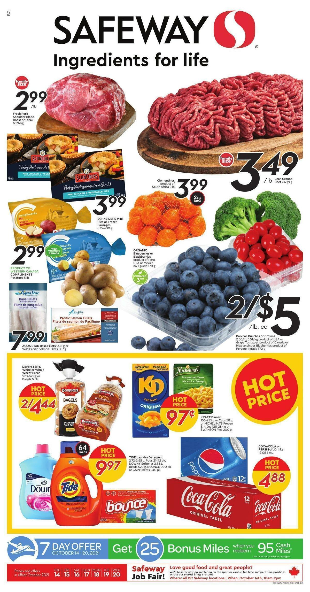Safeway Flyer from October 14