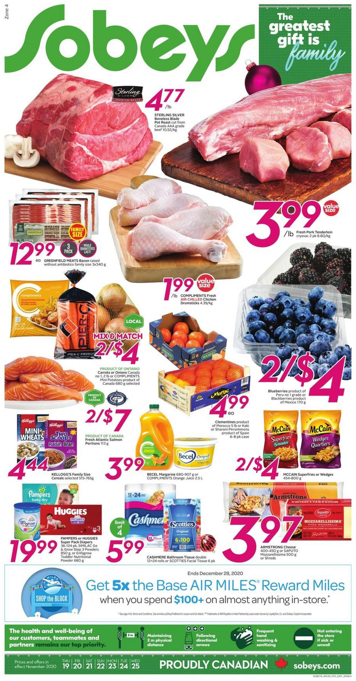 Sobeys Flyer from November 19