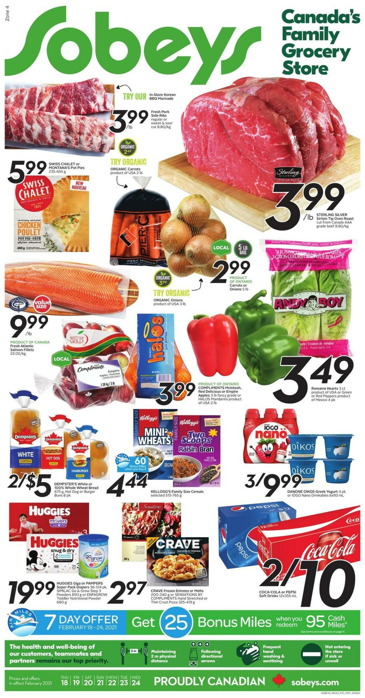 Sobeys Flyer from February 18