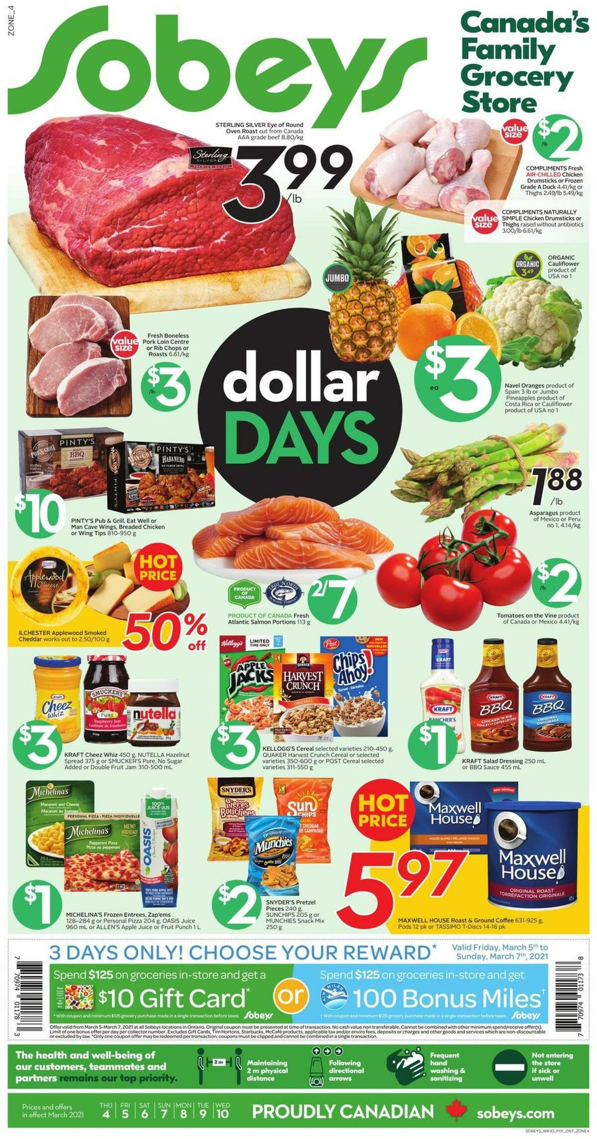 Sobeys Flyer from March 4