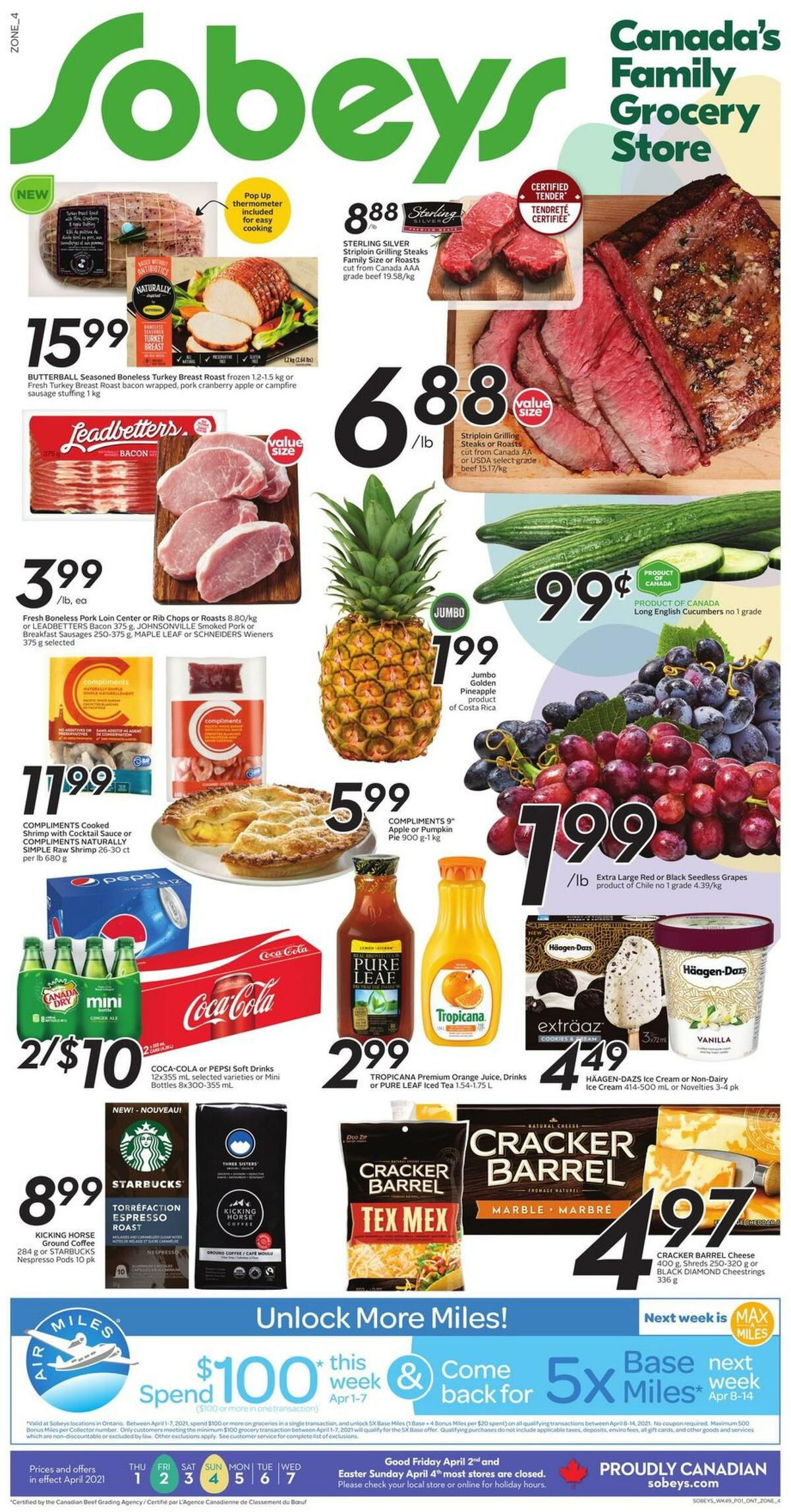 Sobeys Flyer from April 1