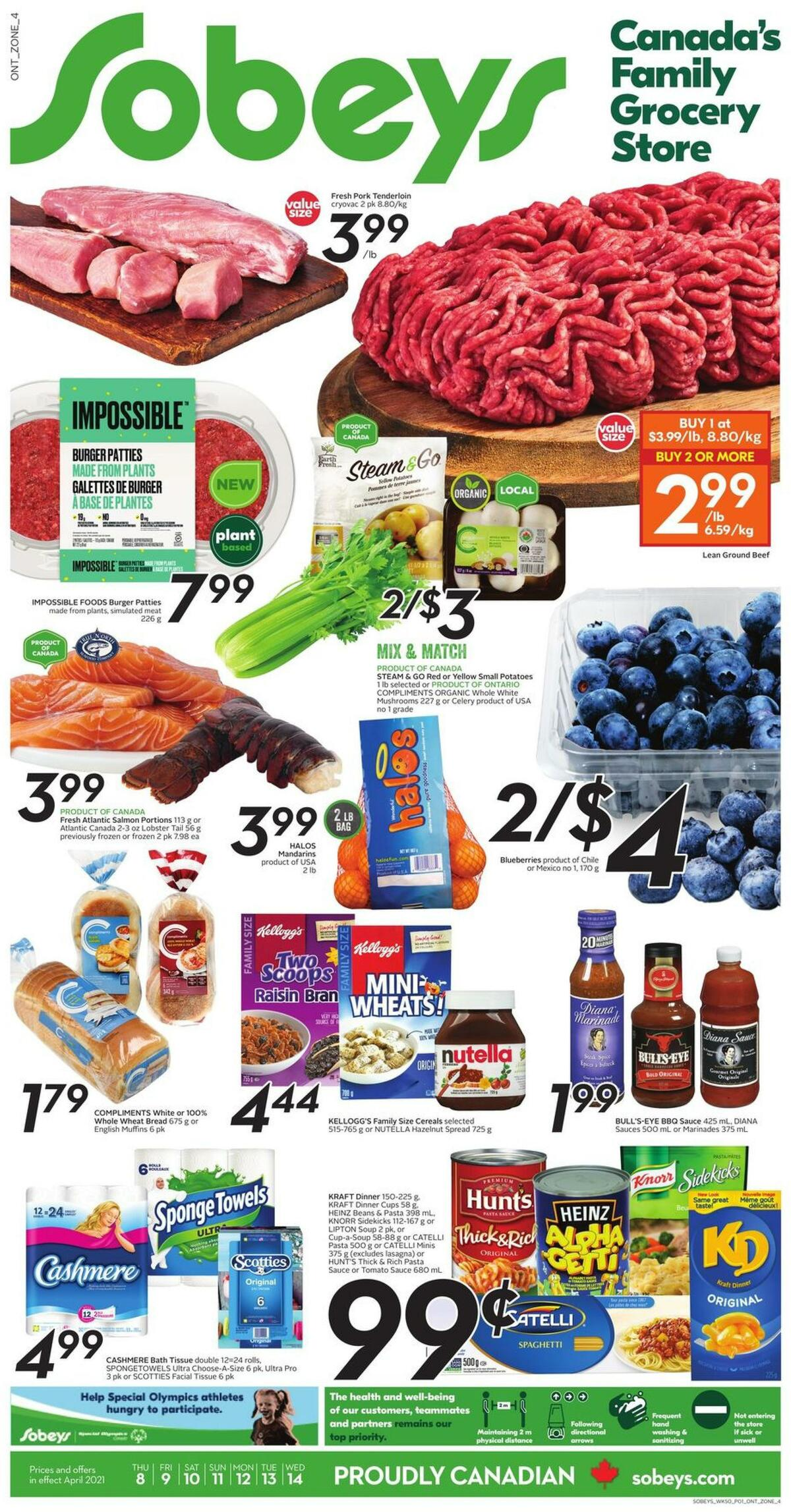 Sobeys Flyer from April 8
