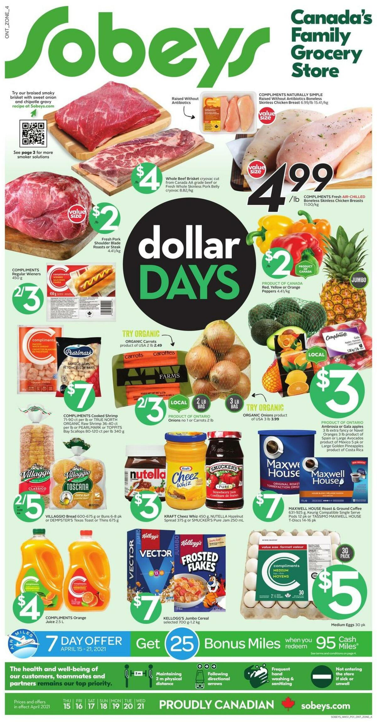 Sobeys Flyer from April 15