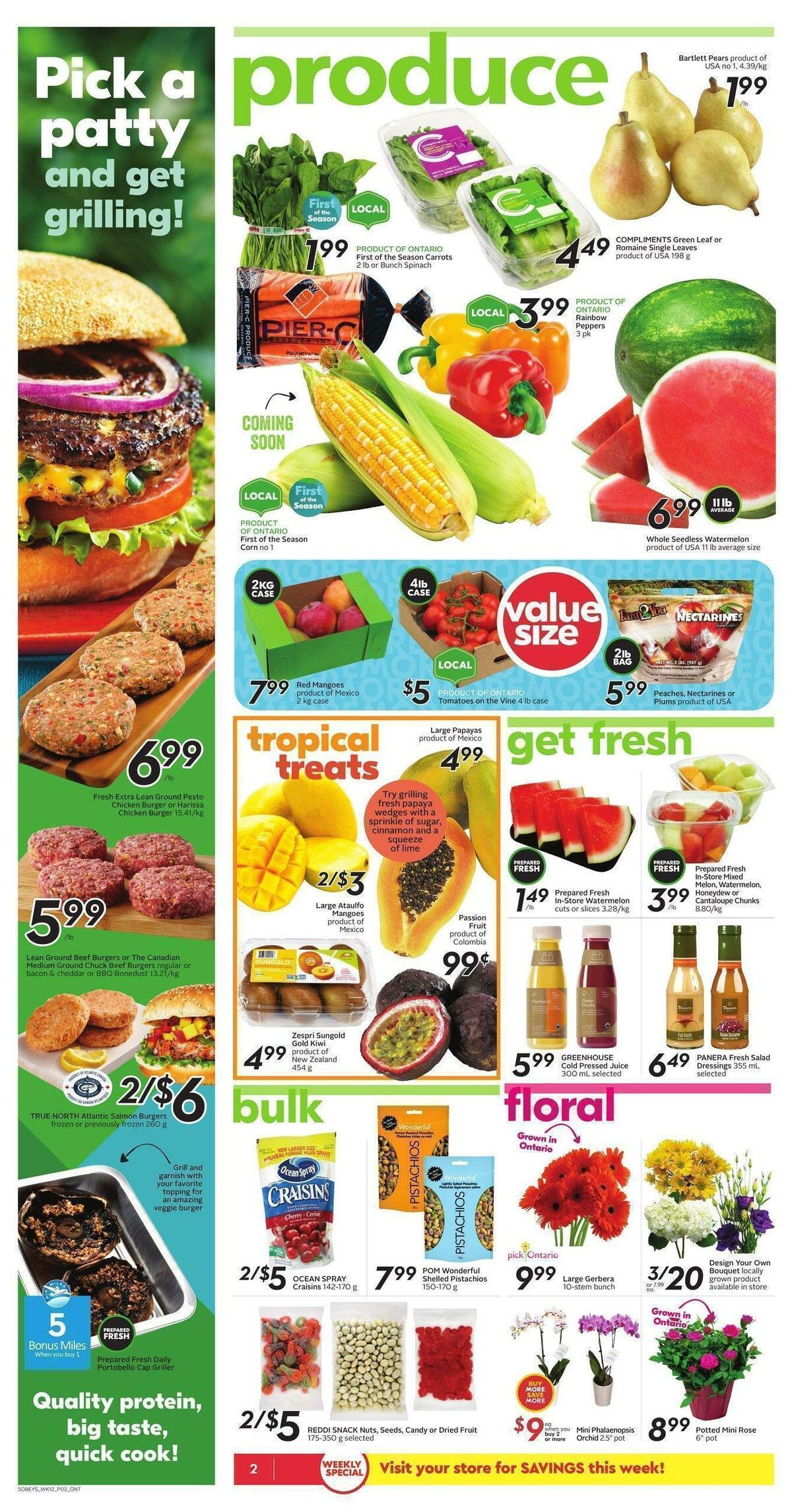 Sobeys Flyer from July 15