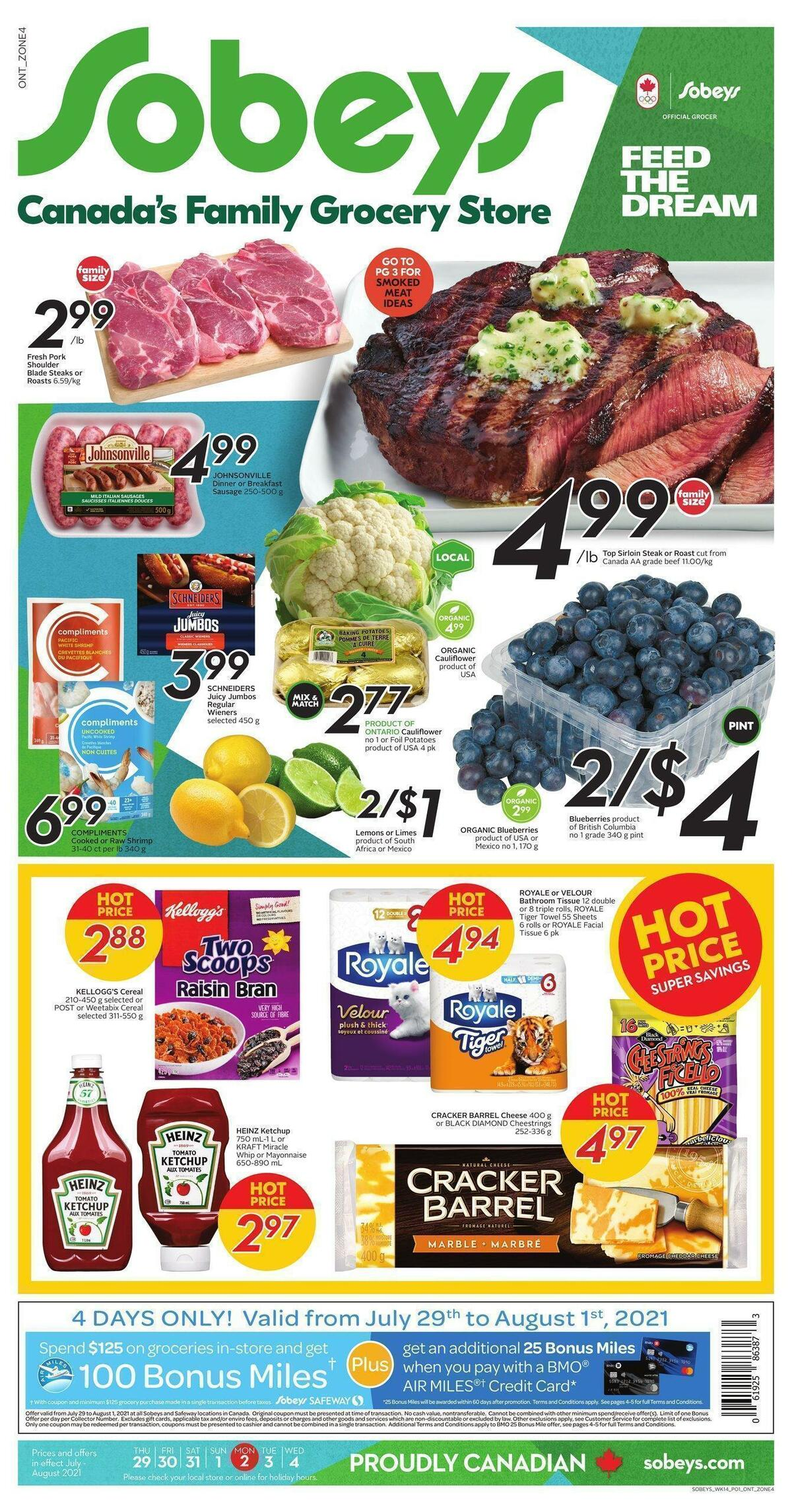 Sobeys Flyer from July 29