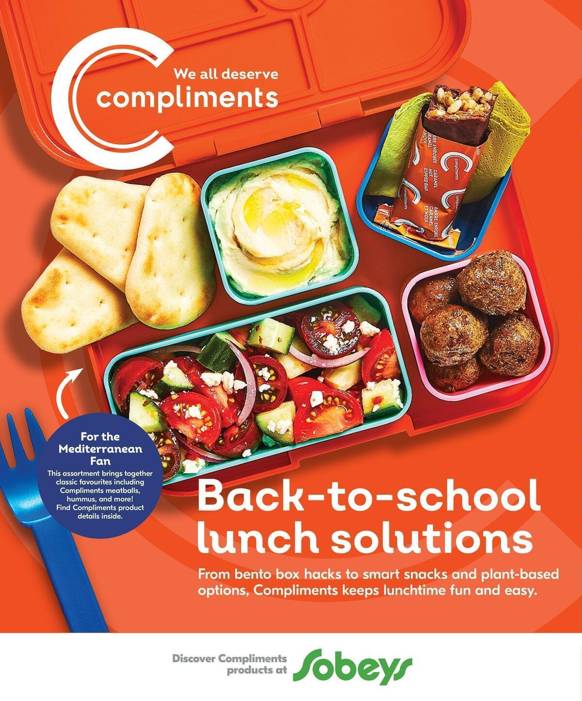 Sobeys Back To School Flyer from September 2