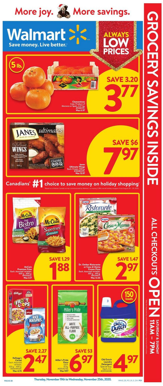 Walmart Flyer from November 19