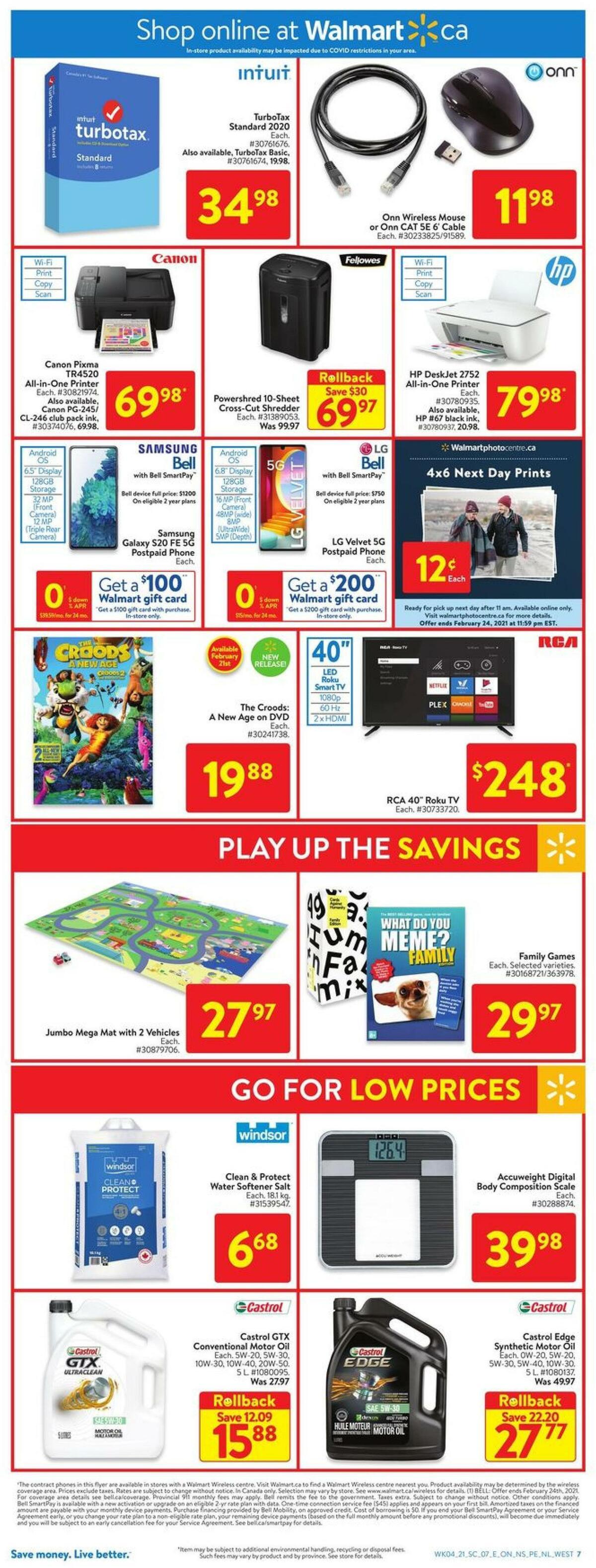 Walmart Flyer from February 18
