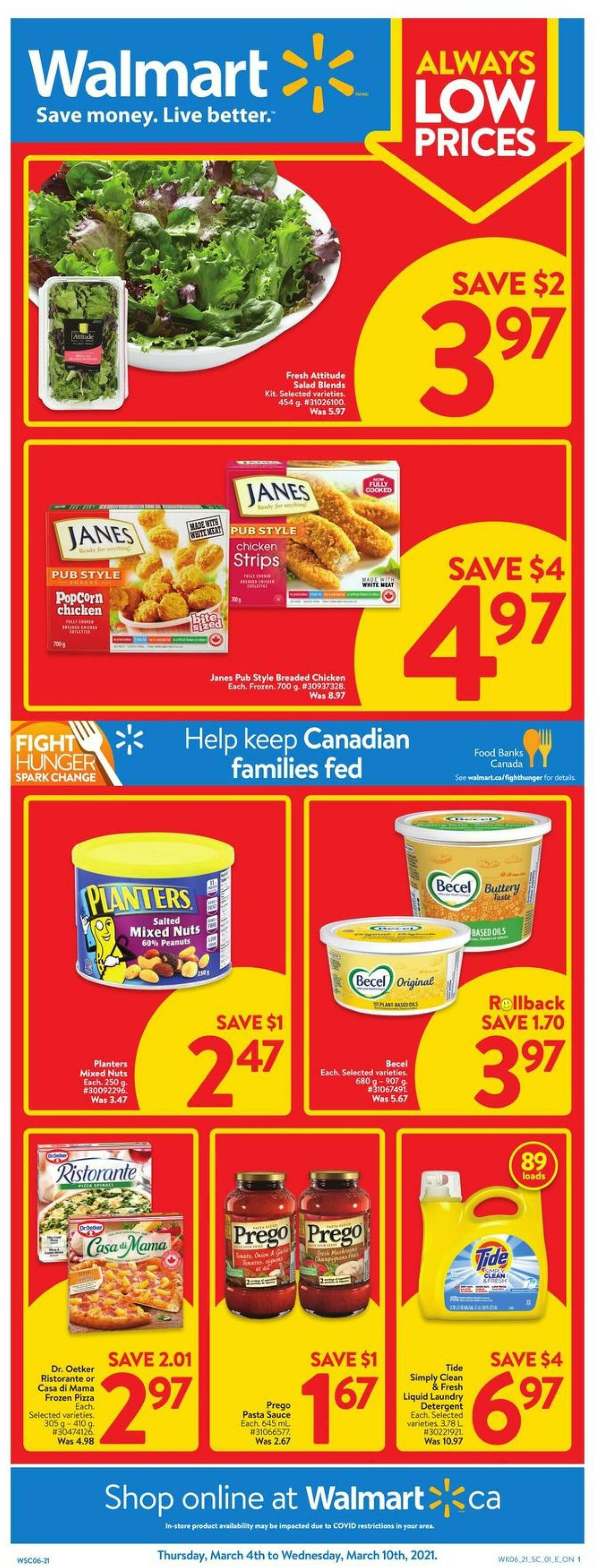 Walmart Flyer from March 4