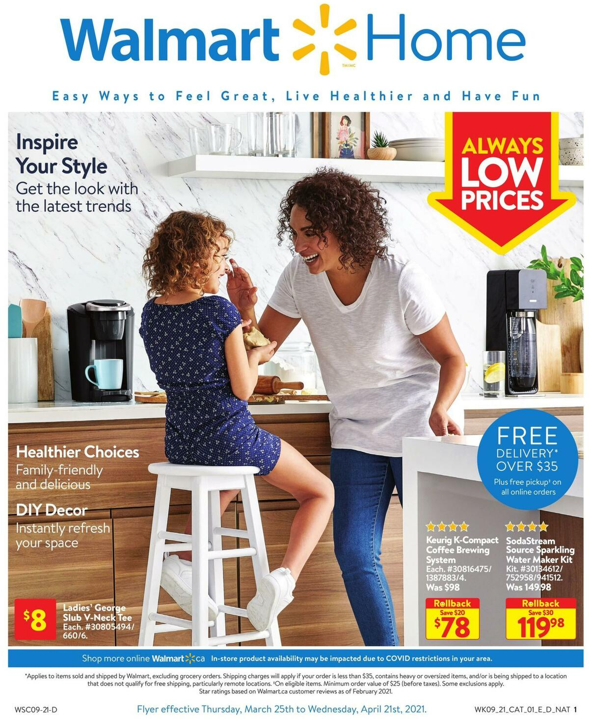 Walmart Home Flyer from March 25
