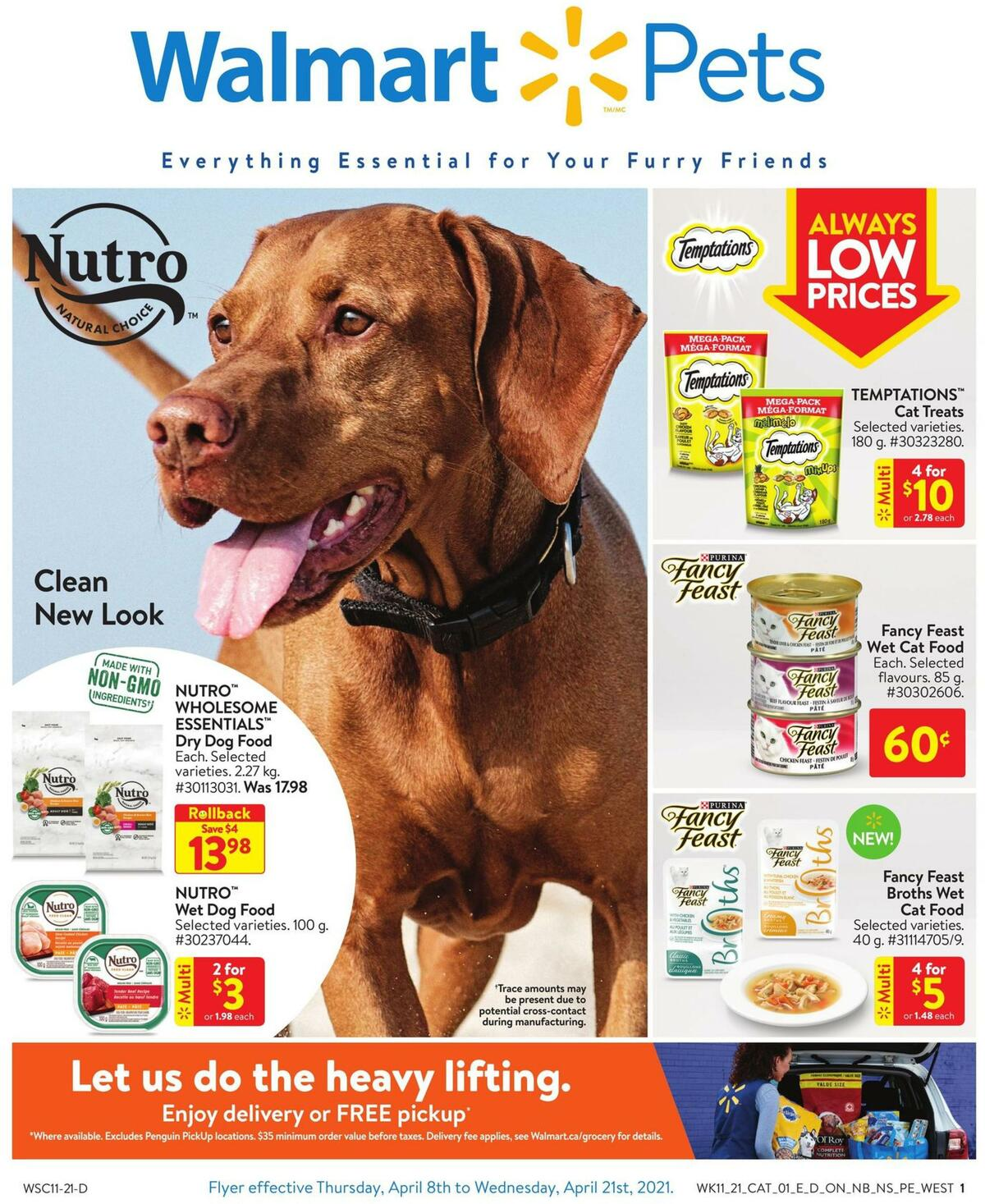 Walmart Pets Flyer from April 8