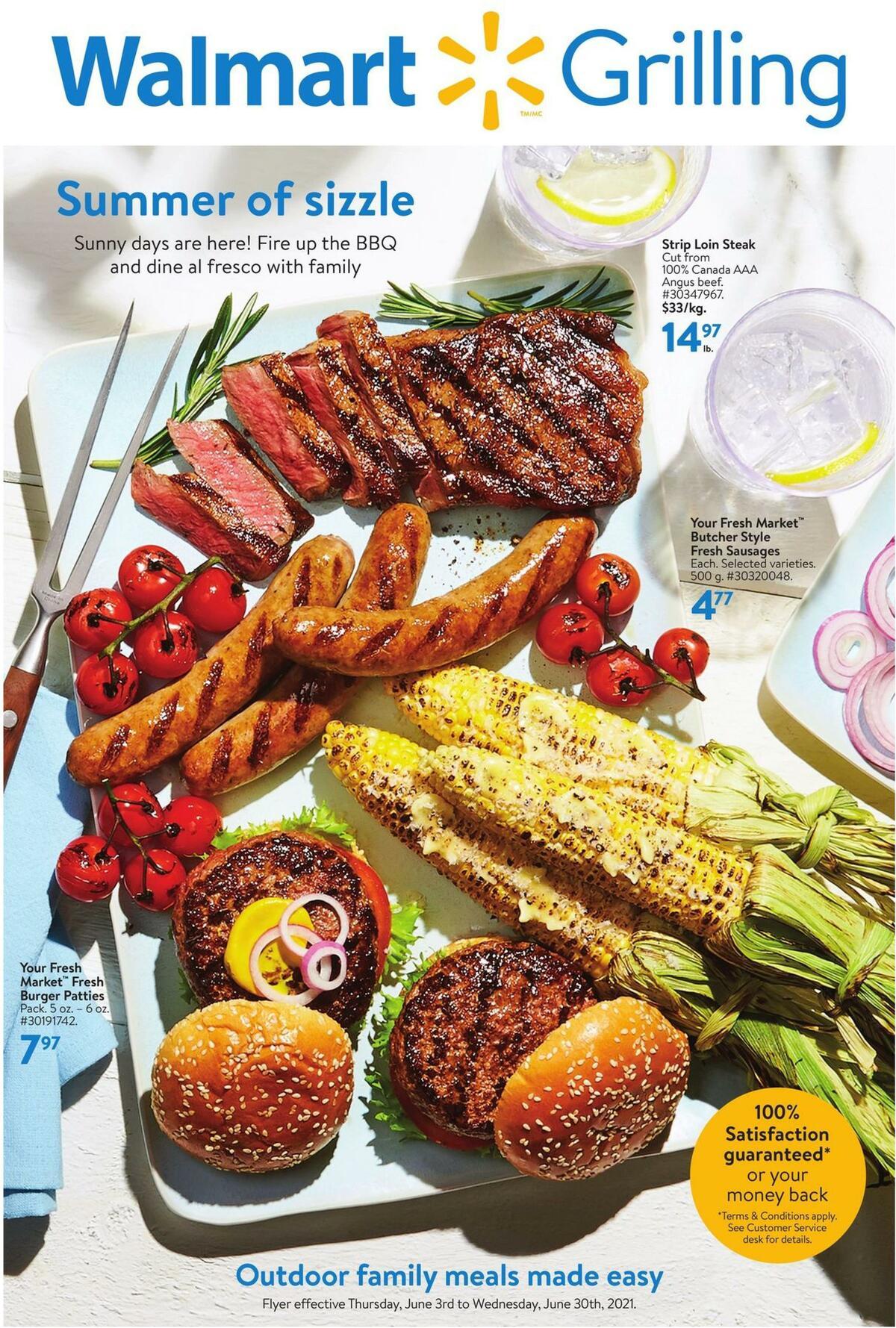 Walmart Grilling Flyer from June 3