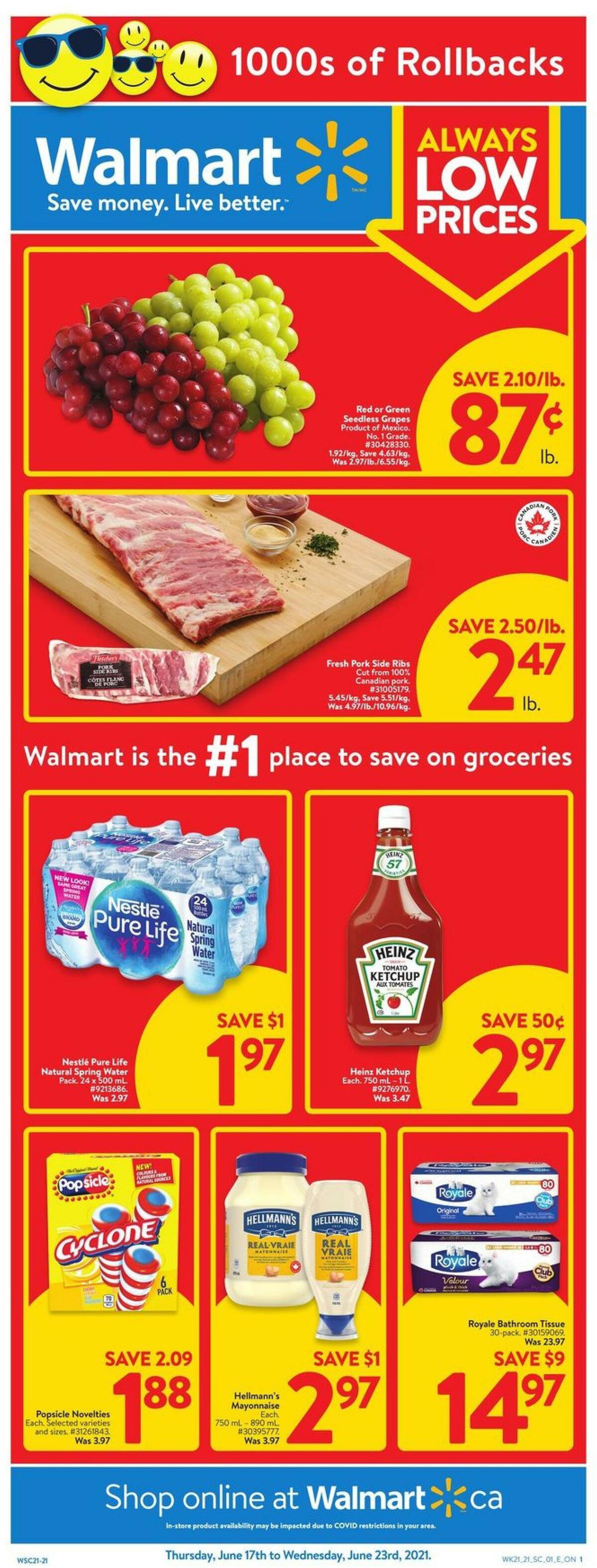 Walmart Flyer from June 17