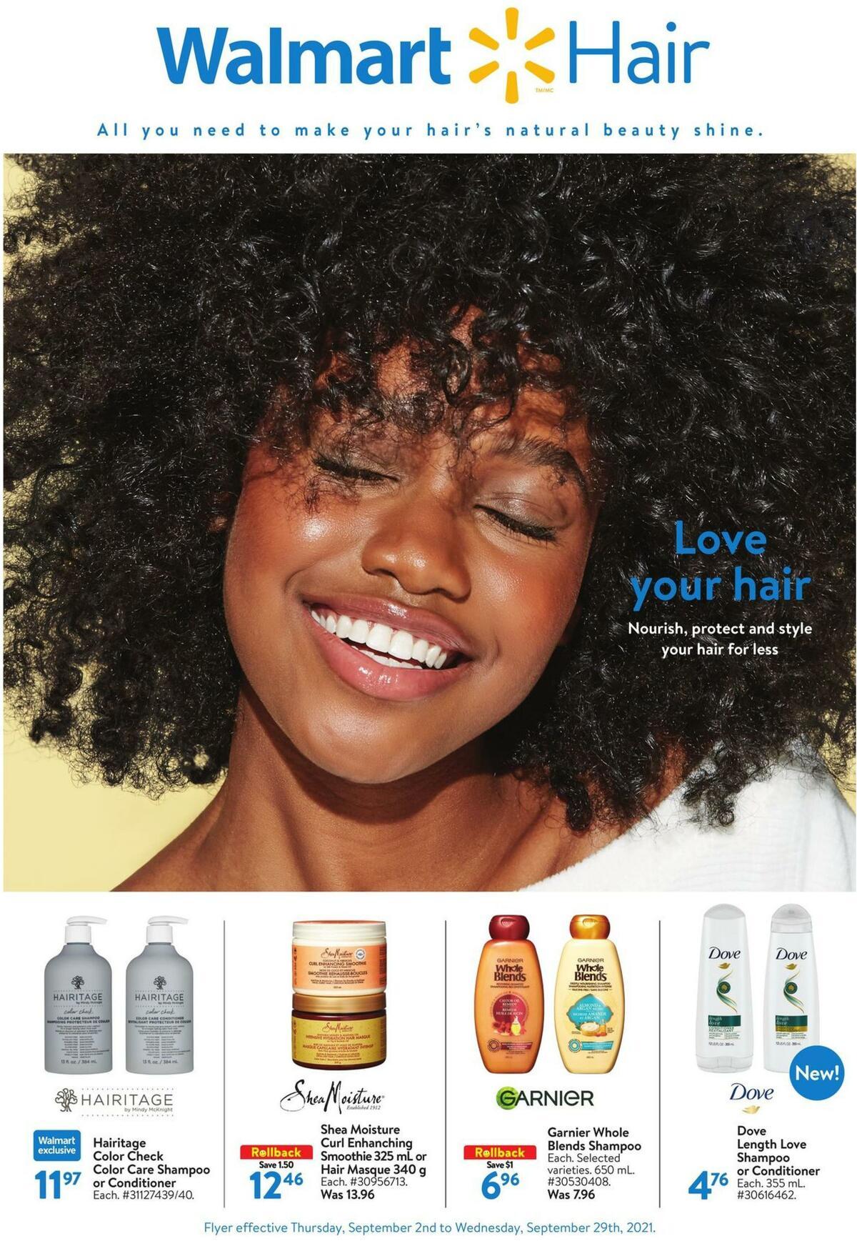 Walmart Style Books Flyer from September 2