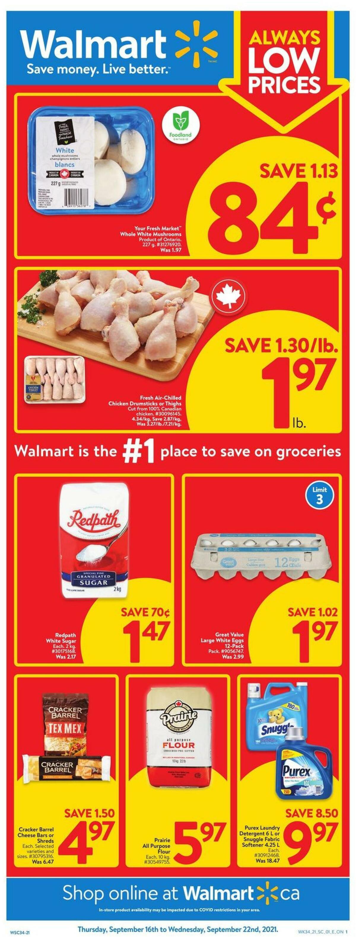 Walmart Flyer from September 16