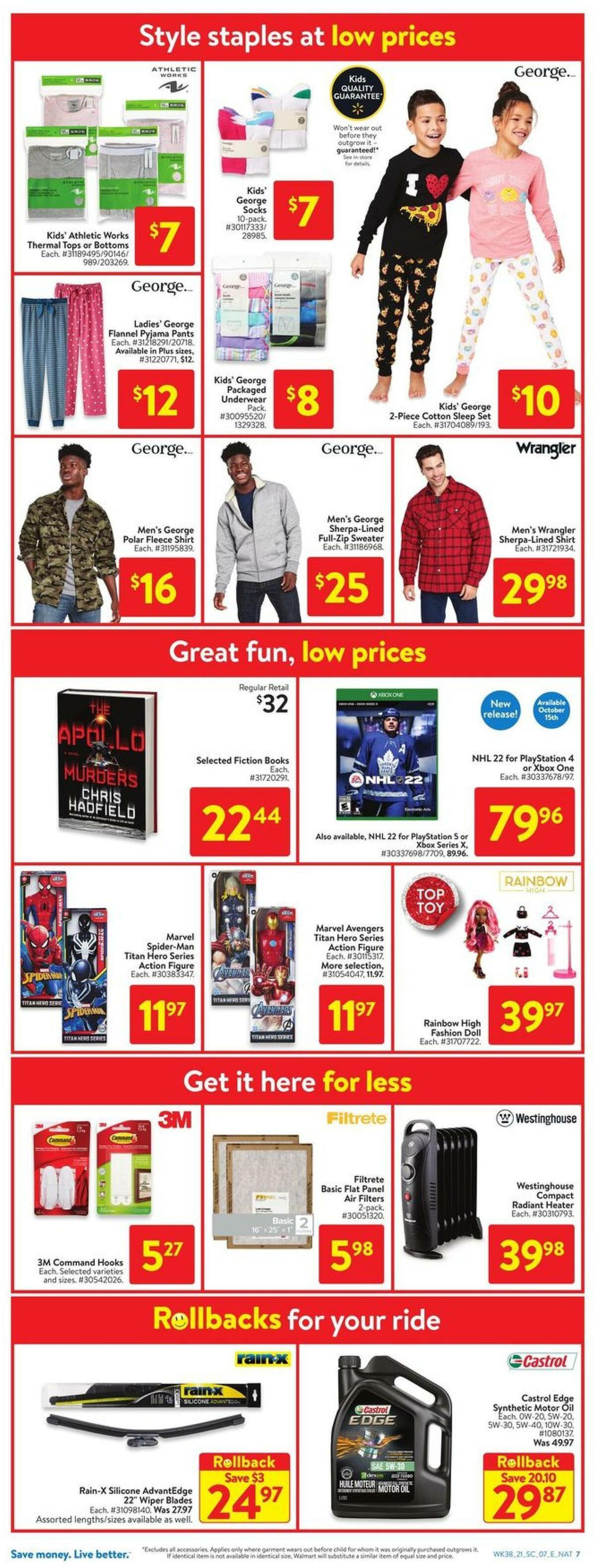 Walmart Flyer from October 14