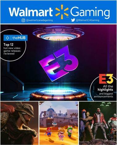Walmart Gaming Catalogue