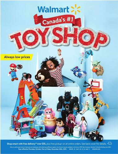 Walmart Toy Shop
